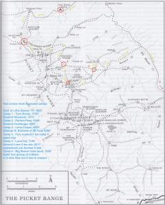 Pickets 2013 Route Overview