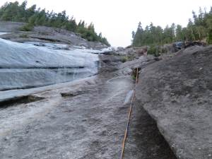twisted ropes after my munter rappel