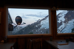 View from the hut